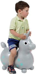 Silver Magical Unicorn Rody