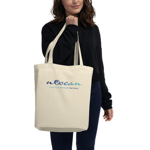 nOcean Tote Bag - 100% Organic Cotton
