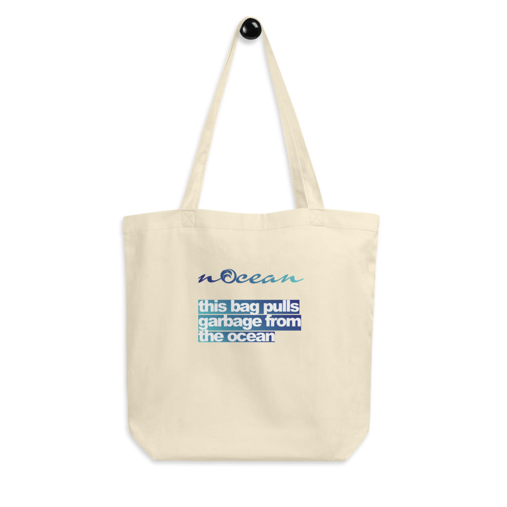 Cleaning the Oceans Tote Bag - 100% Organic Cotton