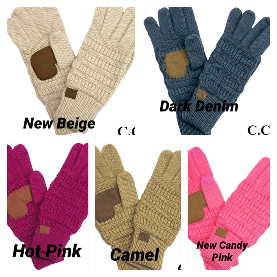 C.C. Smart Tip Gloves