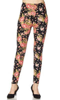 Field of Flowers and Butterflies Leggings