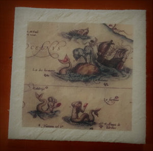 "Nautical & Seafaring Prints - 4"" x 4"""