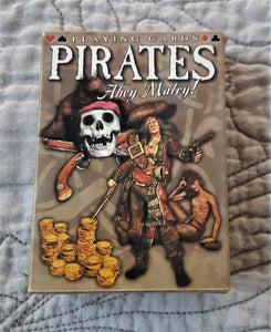 Ahoy Matey - Pirate Deck of Cards