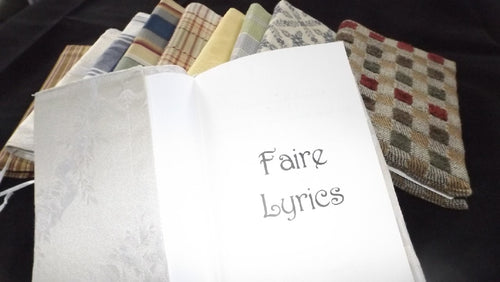 Faire Lyric Book