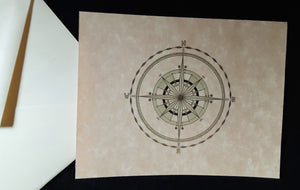 Note Cards - Compass Rose - assorted options