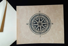 Load image into Gallery viewer, Note Cards - Compass Rose - assorted options