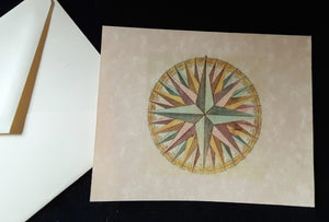 Note Cards - Compass Rose - 45 options