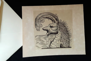 Note Cards - Sea Monsters - 24 options