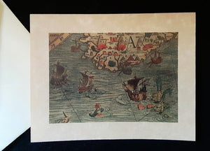 Note Cards - Ships/Maps with Sea Monsters - 43 options