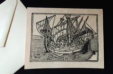 Load image into Gallery viewer, Note Cards - Ships - assorted options