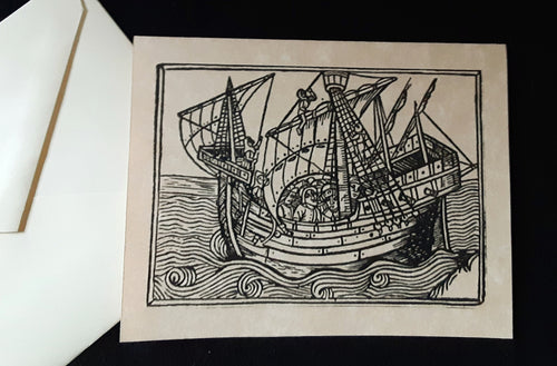 Note Cards - Ships - 2 options