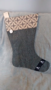 Piratically trimmed Christmas Stockings - $12 to $35