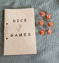 Load image into Gallery viewer, Dice Games Booklet with Dice