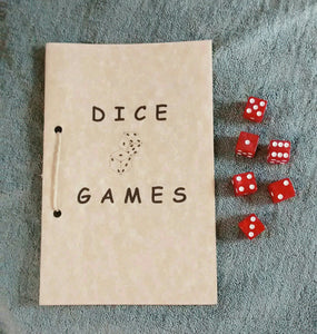 Dice Games Booklet with Dice