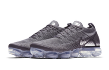 Load image into Gallery viewer, NIKE AIR VAPORMAX FLYKNIT 2 DARK GREY/ CHROME-DARK GREY