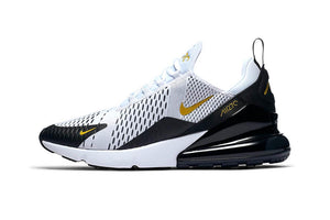 Air Max 270 White Metallic Gold Black UNISEX Original