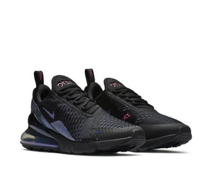 NIKE W AIR MAX 270 BLACK/ LASER FUCHSIA-REGENCY PURPLE