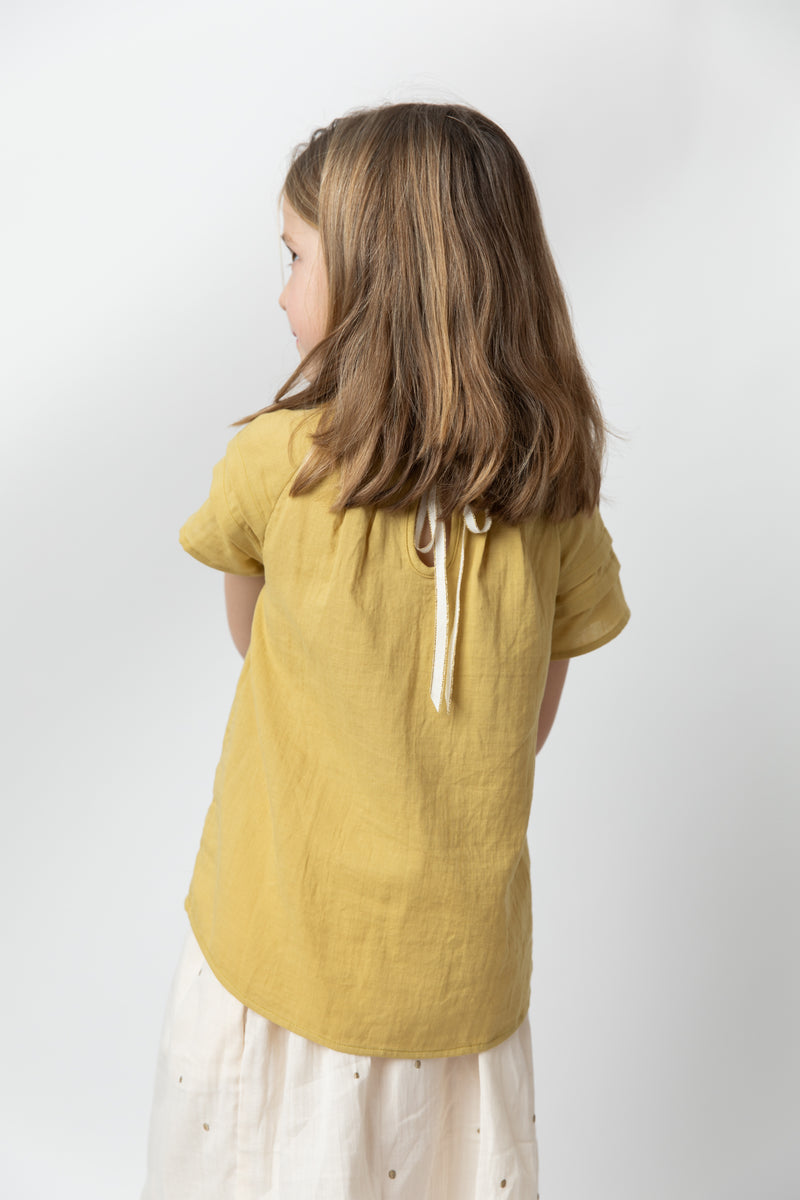 Camille Blouse Mustard