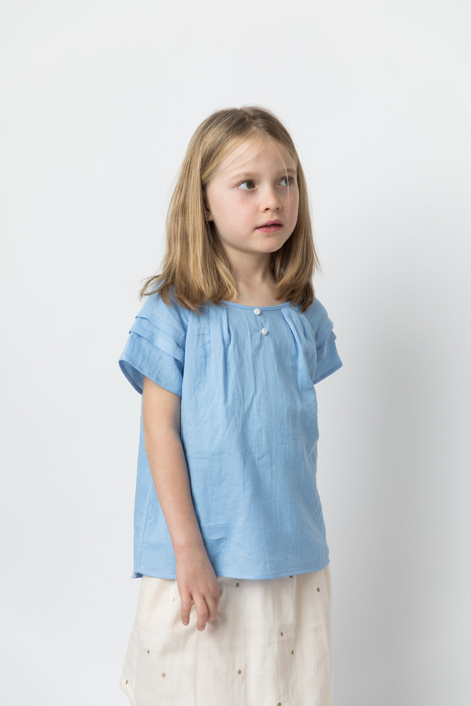 Camille Blouse Light blue