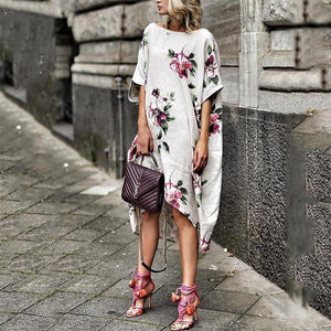 Fashion Loose Floral Dress