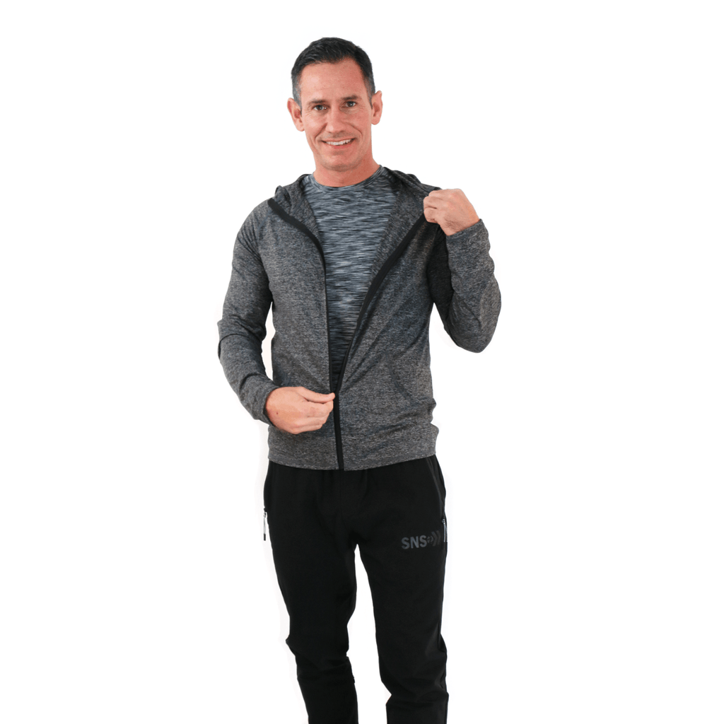 MEN'S LIGHTWEIGHT ZIP UP HOODIE