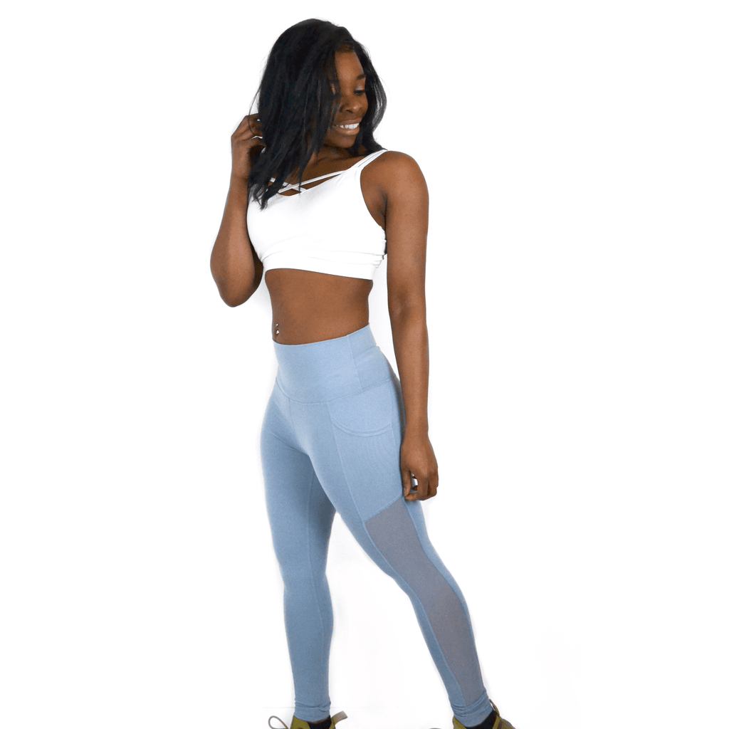 BREATHE MESH POCKET LEGGING