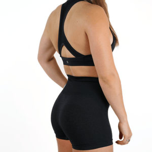 HER SEAMLESS SHORTS SET