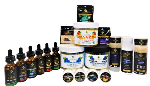 FREE SAMPLES a small non-refundable shipping fee will apply - Gold Care CBD