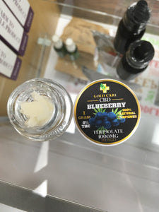 1000 mg Infused Blueberry Terpsolate - Gold Care CBD