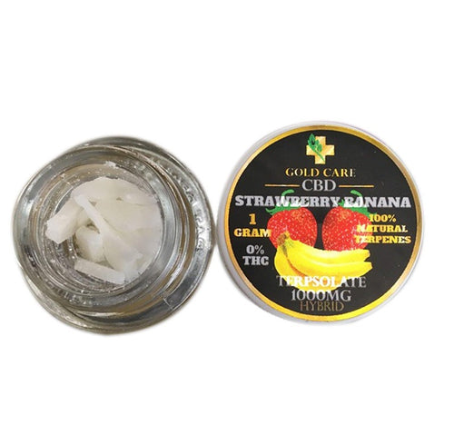 1000mg Infused Strawberry-Banana Terpsolate - Gold Care CBD
