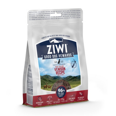 mini snacks de ciervo naturales ziwipeak