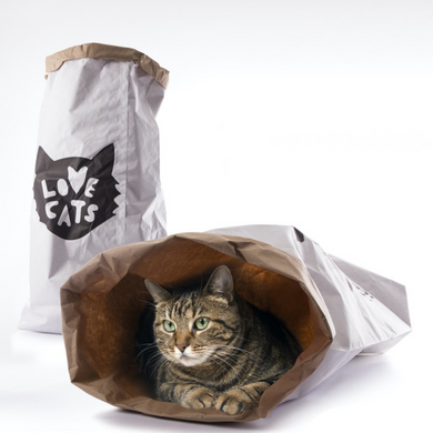 bolsa juguete para gatos love cats bag