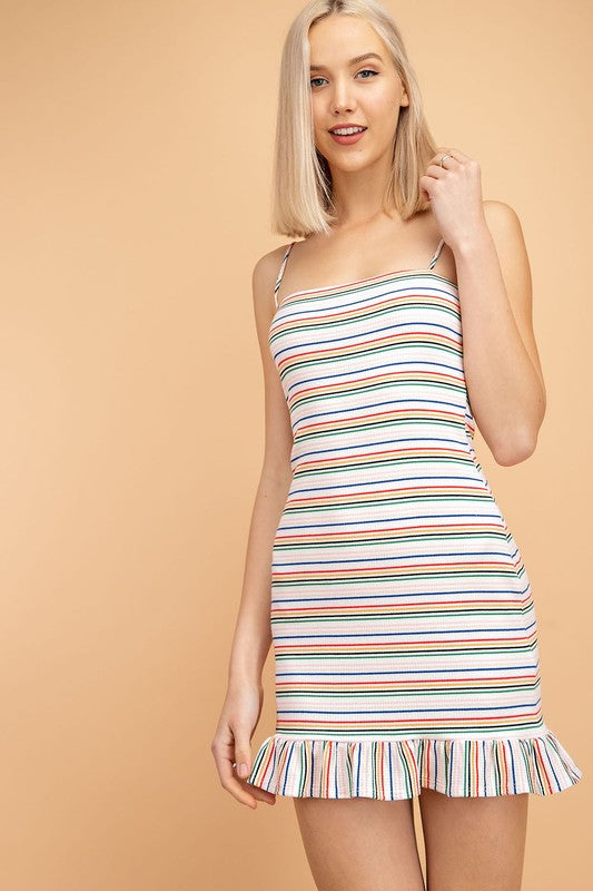 Le Lis | Stripe Bodycon Dress