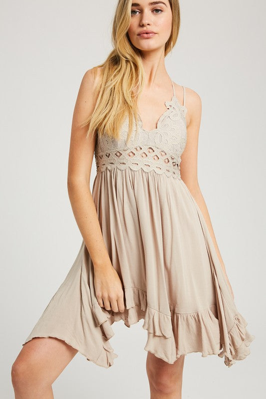 Wishlist | Cream Bralette Dress