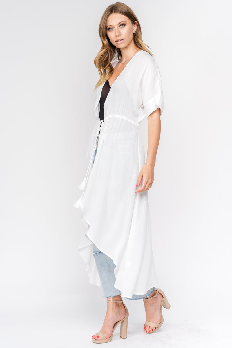 Fore | White Gauze Cover Up