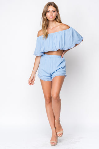 Fore | Woven High-Waisted Shorts