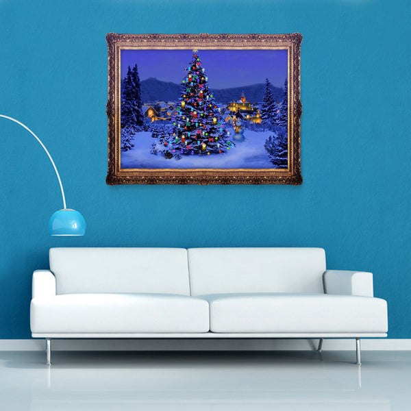 Christmas Tree 5D DIY Partial Drill Round Drill Diamond Painting