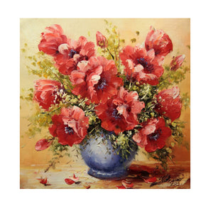 Flower Vase DIY Partial Drill Diamond Painting Cross Stitch Home Decor Gift