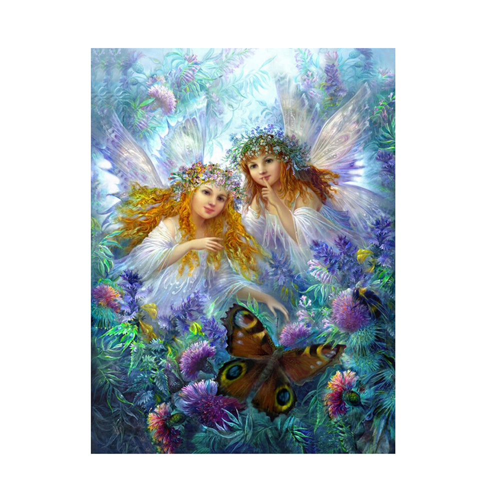 Butterfly Angel 5D DIY Partial Drill Round Drill Diamond Painting