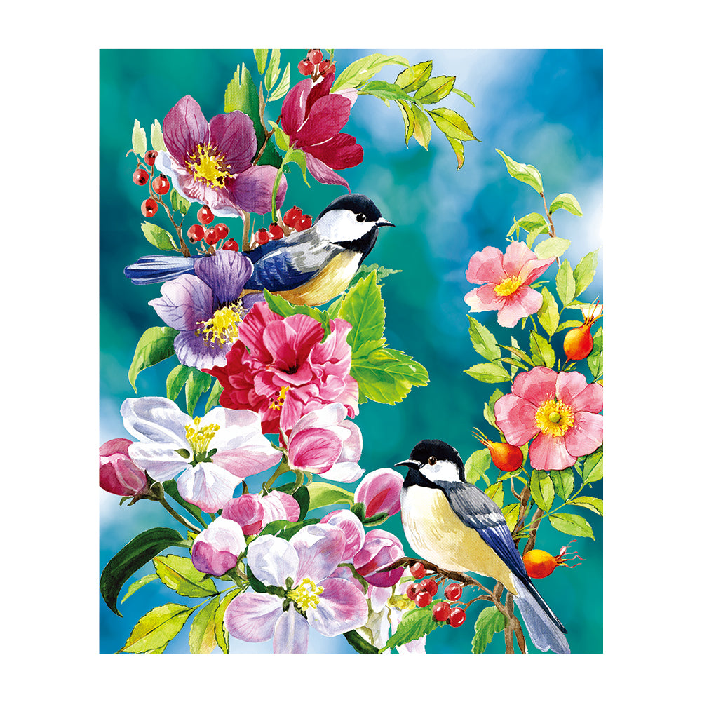 Magpie 5D DIY Partial Drill Round Drill Diamond Painting