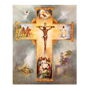 Jesus Cross God 5D DIY Diamond Painting