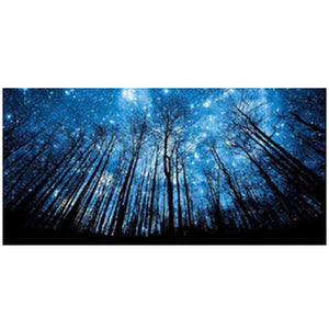 Forest Sky Star Night 5D DIY Partial Drill Round Drill Diamond Painting