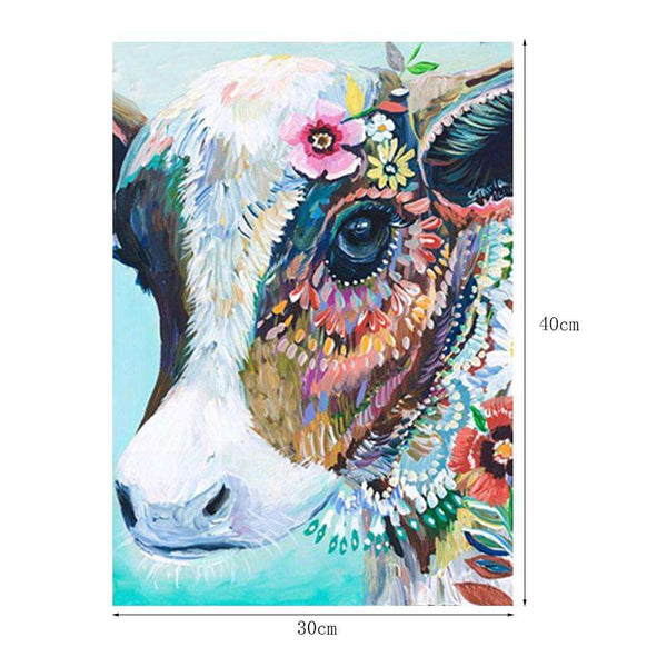 Cow DIY Full Drill Round Drill Diamond Painting