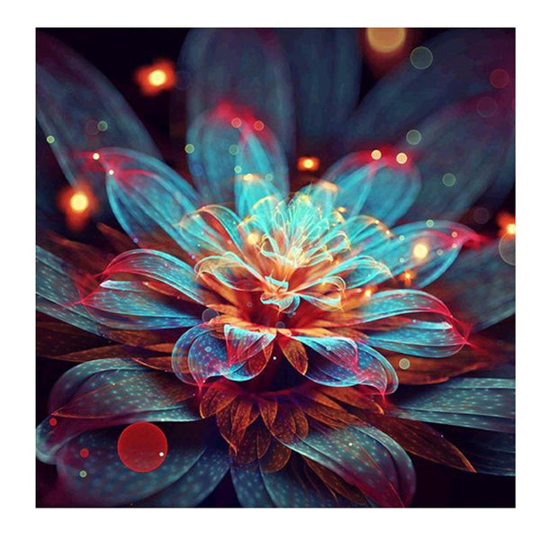 Magic Flower 5D DIY Partial Drill Round Drill Diamond Painting