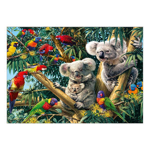 Koala DIY 5D Partial Drill Round Drill Diamond Painting