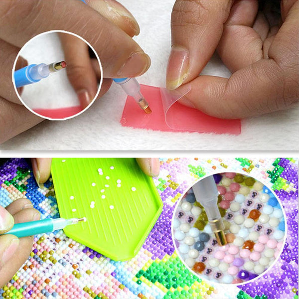 Lavender Bottle DIY Partial Drill Round Drill Diamond Painting