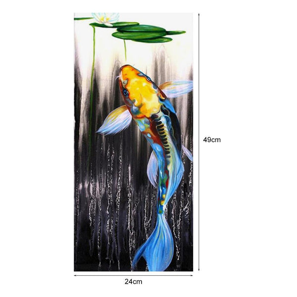 Fish DIY Partial Drill Round Drill Diamond Painting