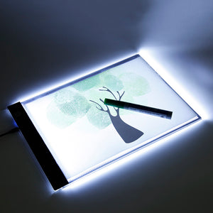 Light Pad LED Digital Tablet Writing Paint Diamond Painting Copy Pads Board Artcraft Table with Scale