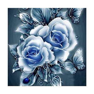 Rose 5D DIY Partial Drill Round Drill Diamond Painting