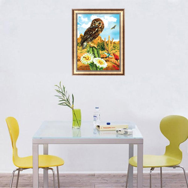 Eagle 5D DIY Partial Round Drill Diamond Painting Home Decor